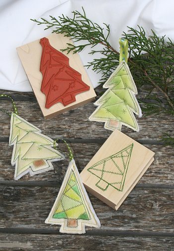 DIY Stitched Holiday Ornaments