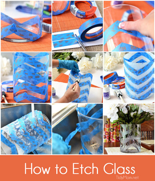 How to Etch a Glass Vase | TidyMom
