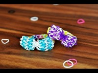 How to make a Bow with ONE  Rainbow Loom | DIY
