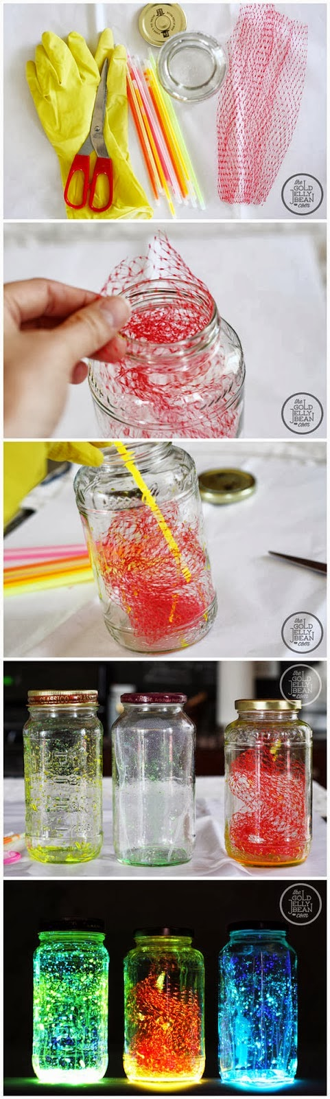 How To Make Glow Jars | DIY