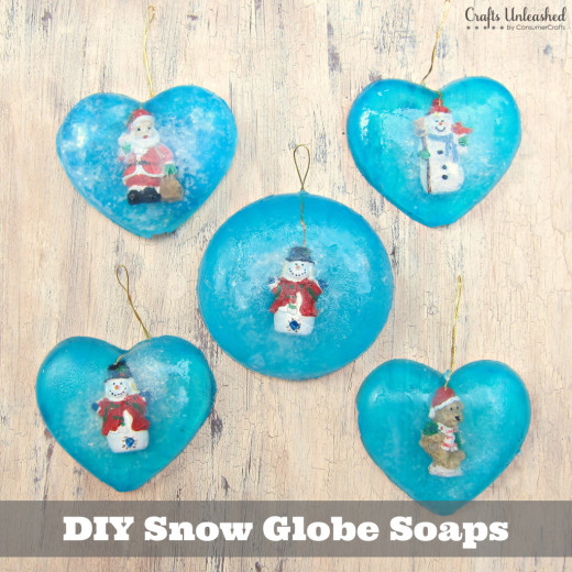 Snow Globe Soaps | DIY