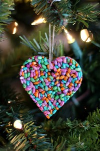 Rainbow Barley Molded Ornaments | DIY
