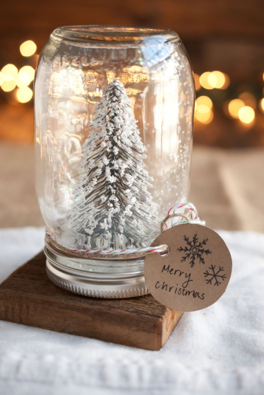 diy anthropologie mason jar snow globes – Simple Craves & Olive Oil