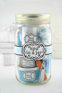 Gifts in A Jar – Spa theme