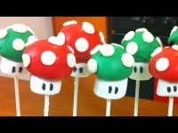 SUPER MARIO CAKE POPS | DIY