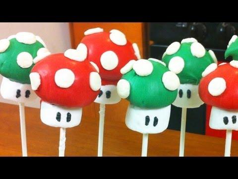 SUPER MARIO CAKE POPS | DIY