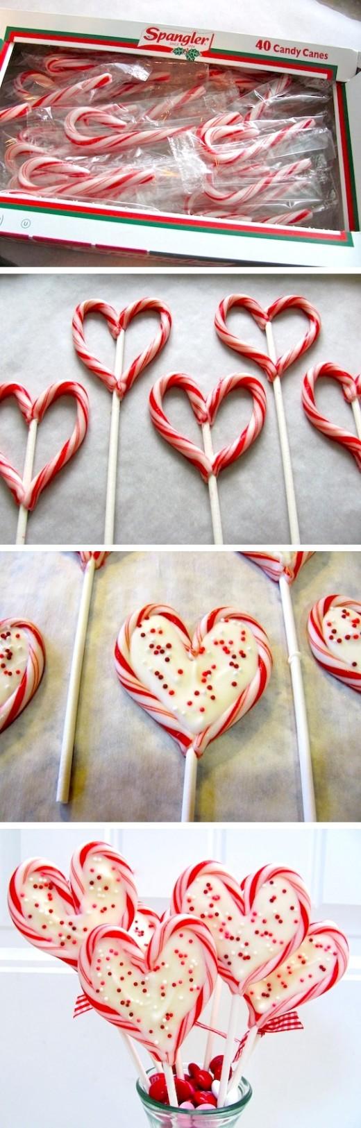 Sweet Heart Pops