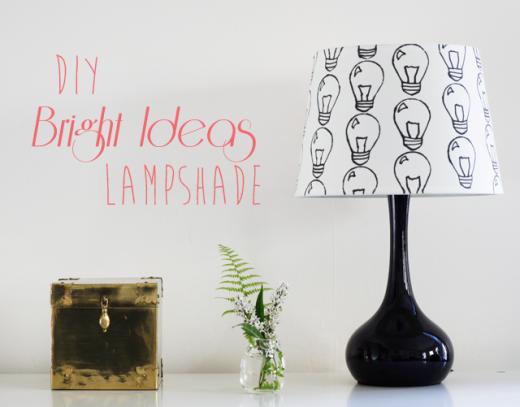 The Bright Ideas Lampshade | DIY