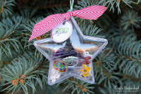 Time Capsule Shrink Plastic Ornaments