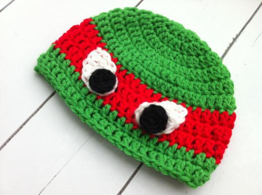 DIY Crochet TMNT Hat