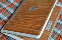Woodgrain Laptop Skin Revisit   DIY