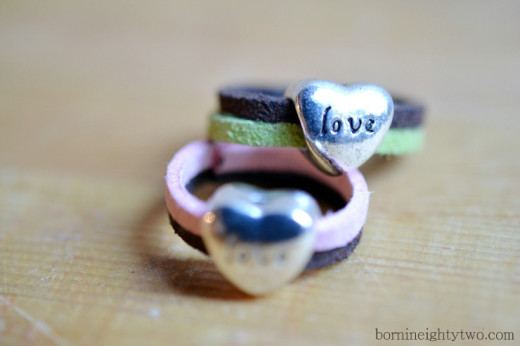 2 hearts in a ring {Diy project} | Valentines Day Ideas