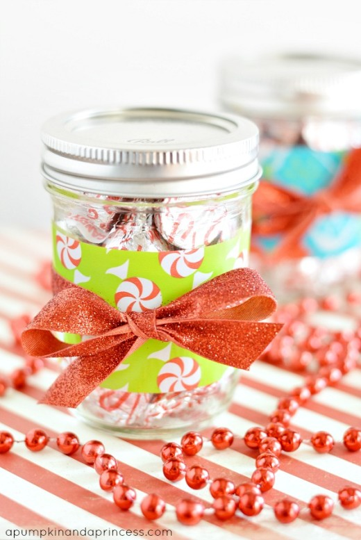 Candy Mason Jar Gifts