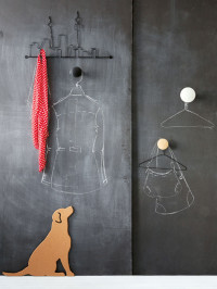"""Chalky"" Wall decor"