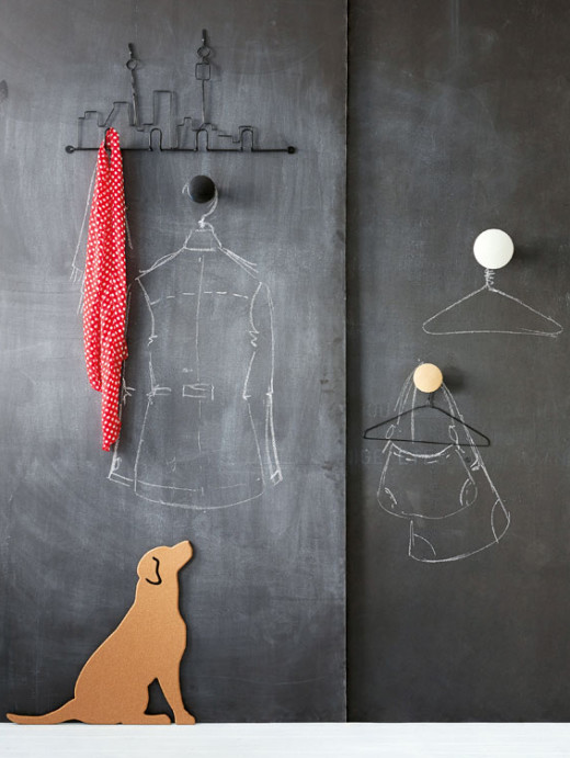 """""""Chalky"""" Wall decor"""