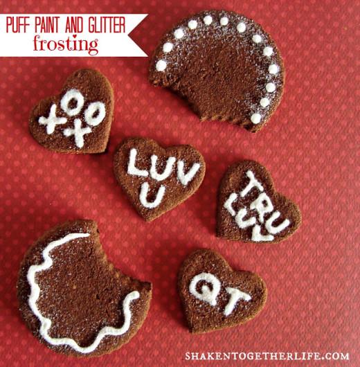 cinnamon spice dough cookies | Valentines Day Ideas