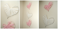 Easy DIY Heart Wall Art