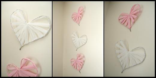 Easy DIY Heart Wall Art