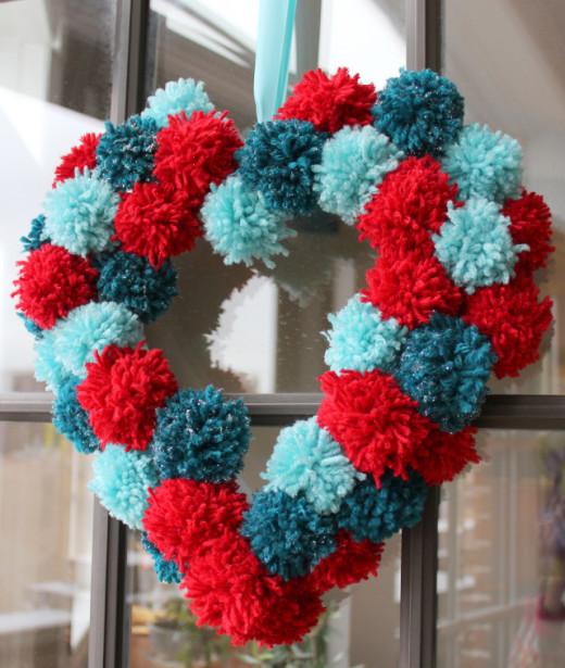 Design Improvised: Valentine Wreath DIY