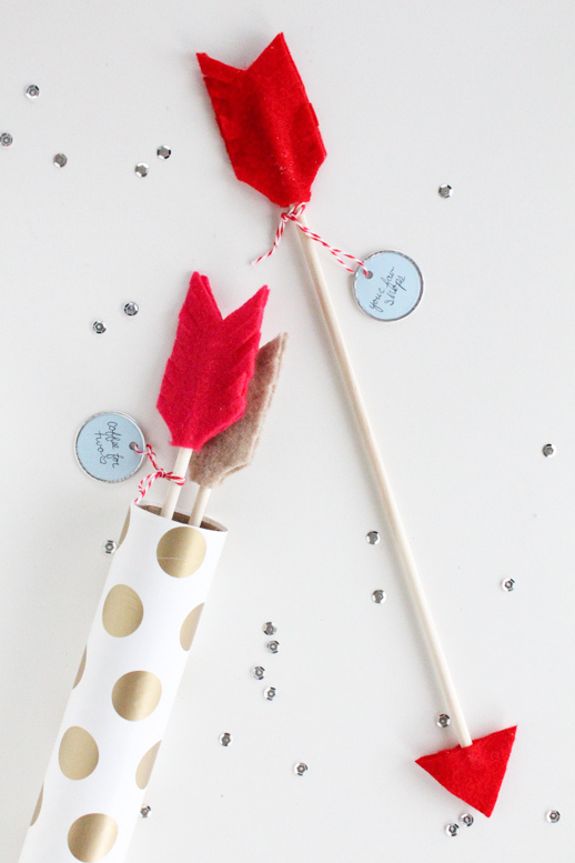 DIY Date Idea Arrows   Valentines Day Ideas
