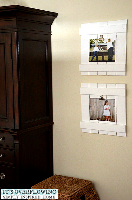 DIY Frame Tutorial created a great knockoff with new wood | DIY Home Decor