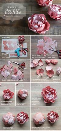 DIY Paper Peony | DIY Crafts