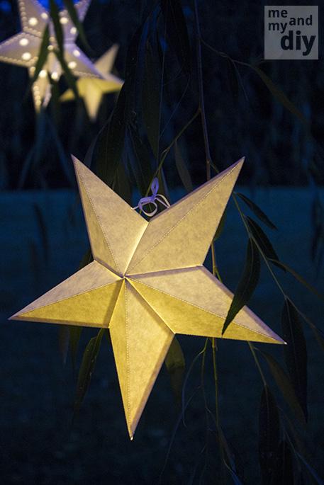 DIY Paper Star Lanterns | DIY and Crafts
