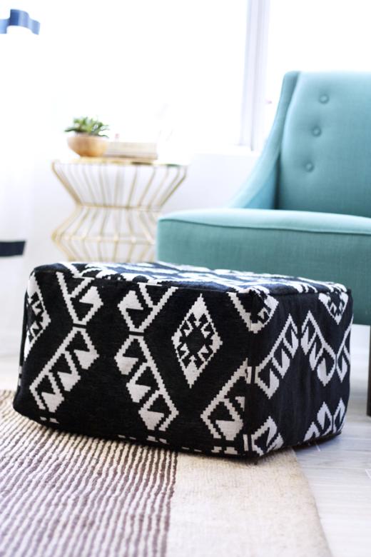 DIY Pouf – IKEA Hack — DIY Ideas