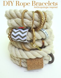DIY Rope Bracelet | DIY Jewelry