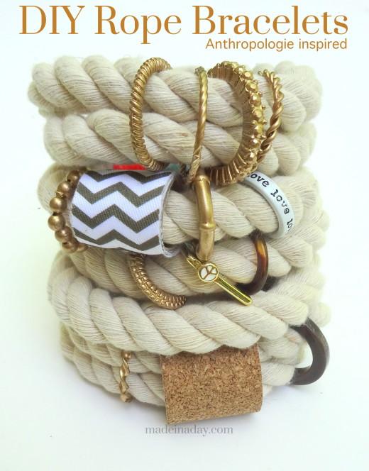 DIY Rope Bracelet | DIY Jewelry