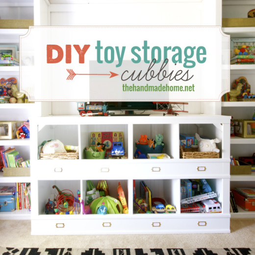 diy toy storage cubbies | the handmade home