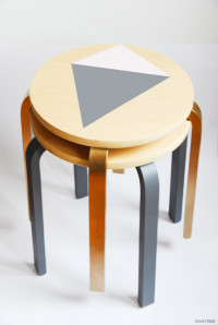 Fancy Stools, designs | DIY home decor