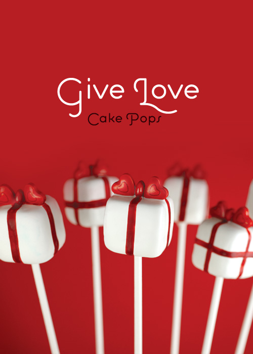 Give Love Cake Pops From  bakerella.com | Valentines Day Ideas