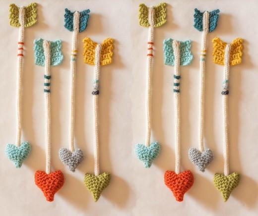 Heart Arrow by JillPoof | Crocheting Pattern