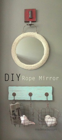 Jute Rope Mirror | DIY