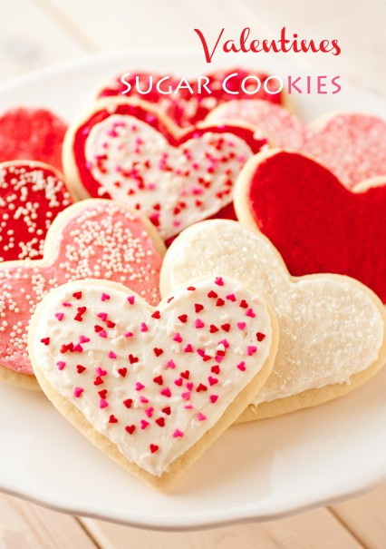 Lofthouse Style Sugar Cookies {Cutout Version} From Cooking Classy | Valentines Day Ideas