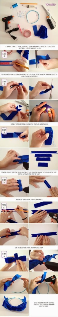 How To Make Headband Bow | DIY