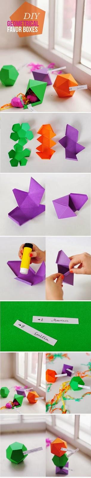 DIY Favour Boxes