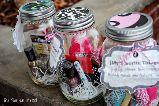My Favorite Things Jars | Valentines Day Ideas