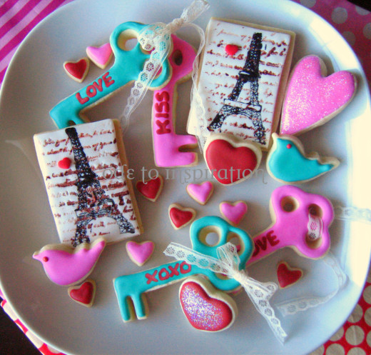 Crafty Lil Hearts..Love Notes In Paris | Valentines Day Ideas