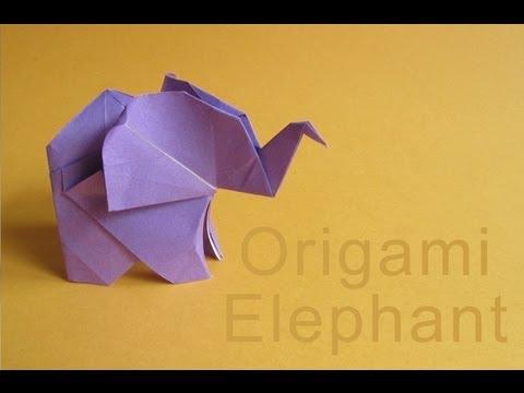 Origami Elephant  | Tutorial