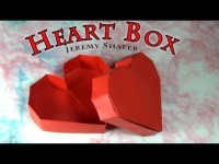 Origami Heart Box | DIY Valentines Day Ideas