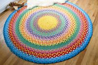 DIY the rainbow rug | Reuse