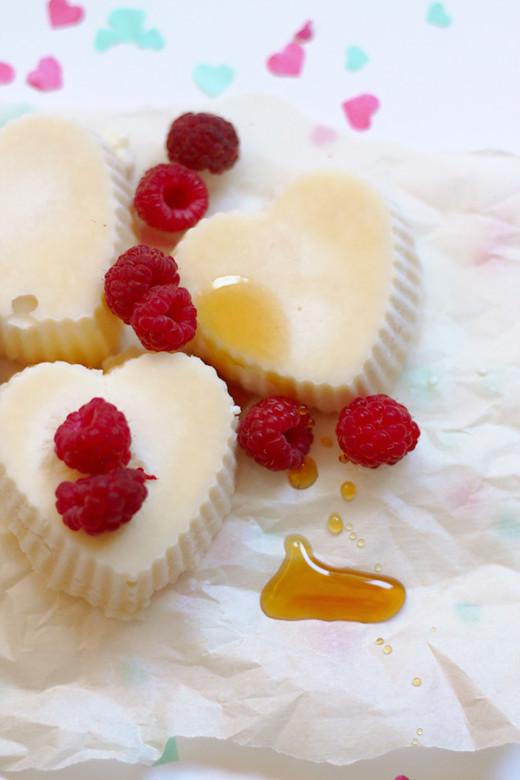 Heart Shaped Ice Cream  Recipe