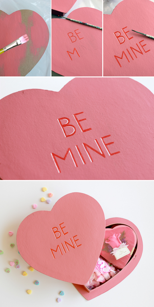 DIY Valentine's day care package