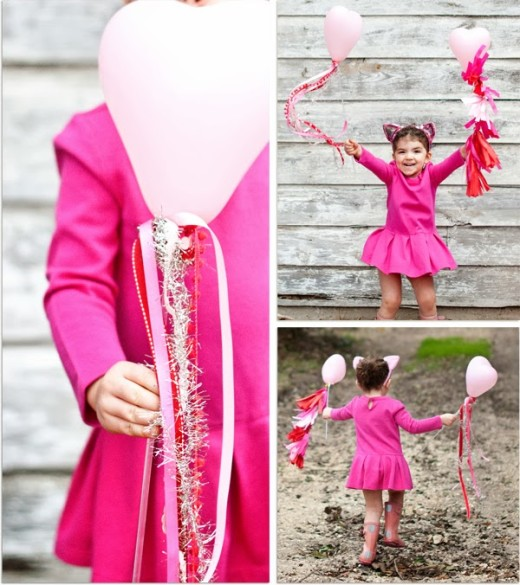 Mini Valentine Balloon Lollies | Valentines Day Ideas