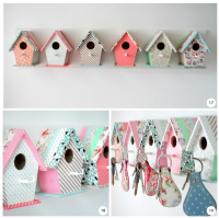 Bird house Key hooks | DIY