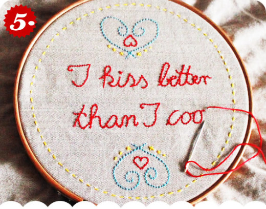 I kiss better than I cook! | DIY valentines