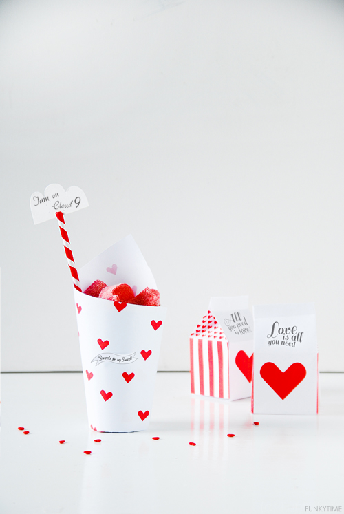 Valentine Treat Boxes | DIY Valentines Day Ideas