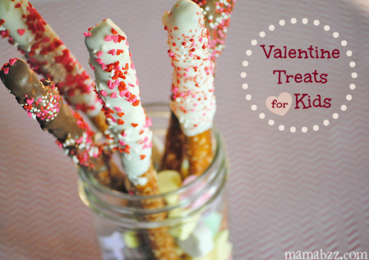 Valentine Treats & Edible Crafts for Kids | Valentines Day Ideas